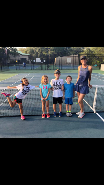 Kerri B. teaches tennis lessons in Tampa, FL