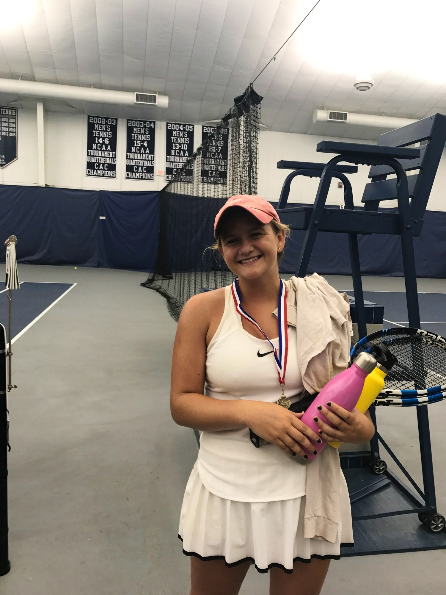 Lucy C. teaches tennis lessons in Fredericksburg, VA