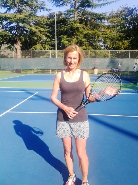 Susan Z. teaches tennis lessons in San Jose, CA