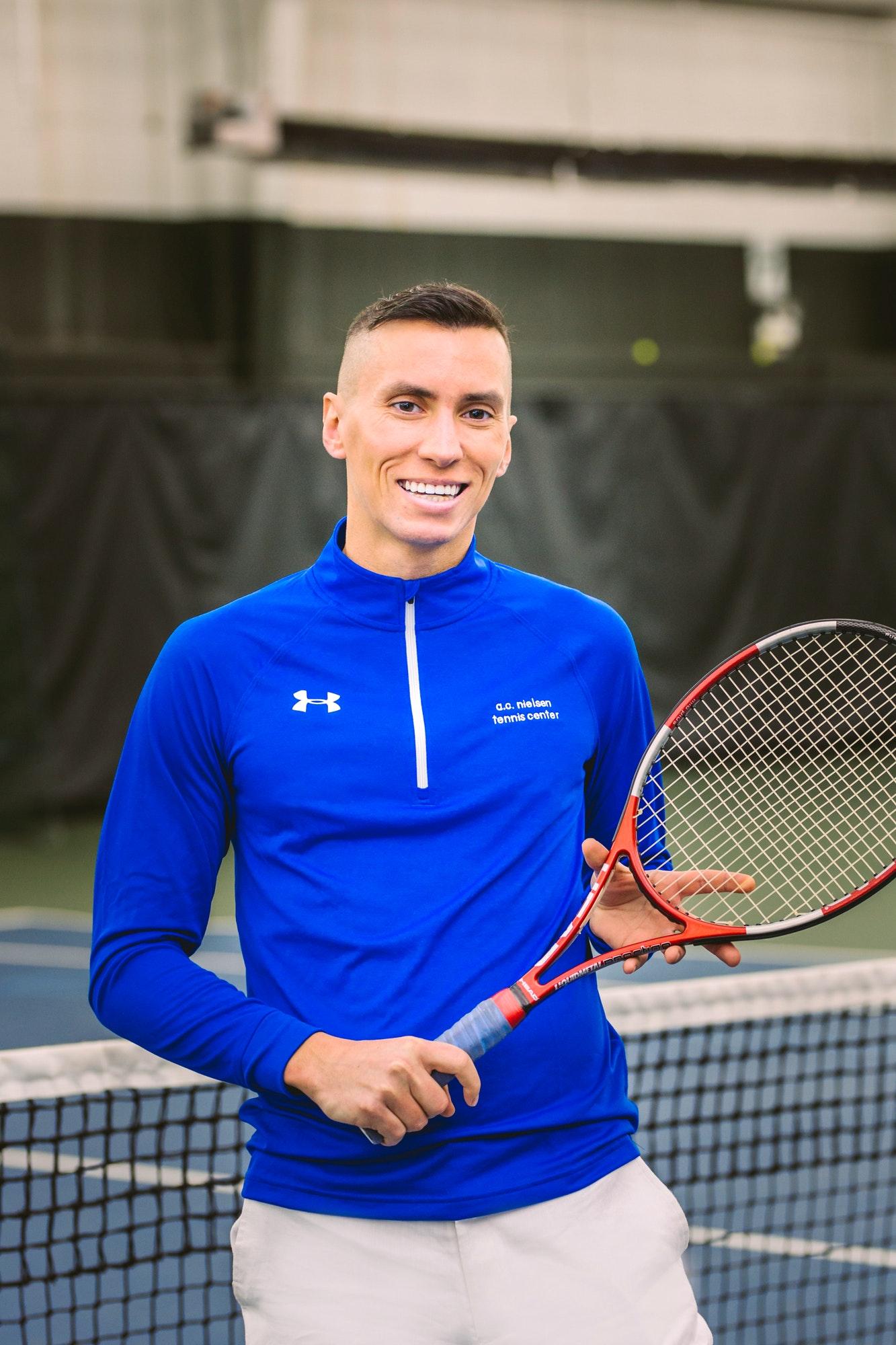 Lukasz L. teaches tennis lessons in Park Ridge, IL