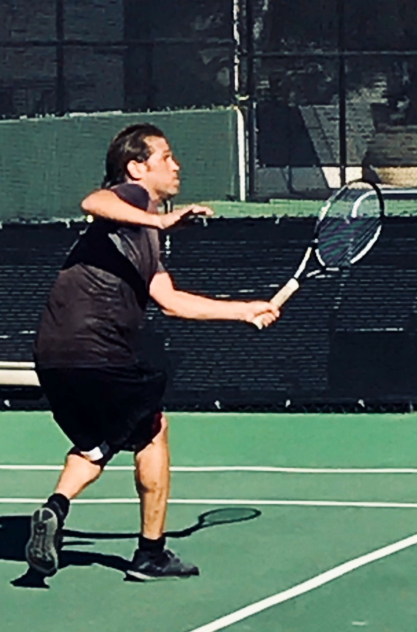 Jonathan T. teaches tennis lessons in South Orange, NJ