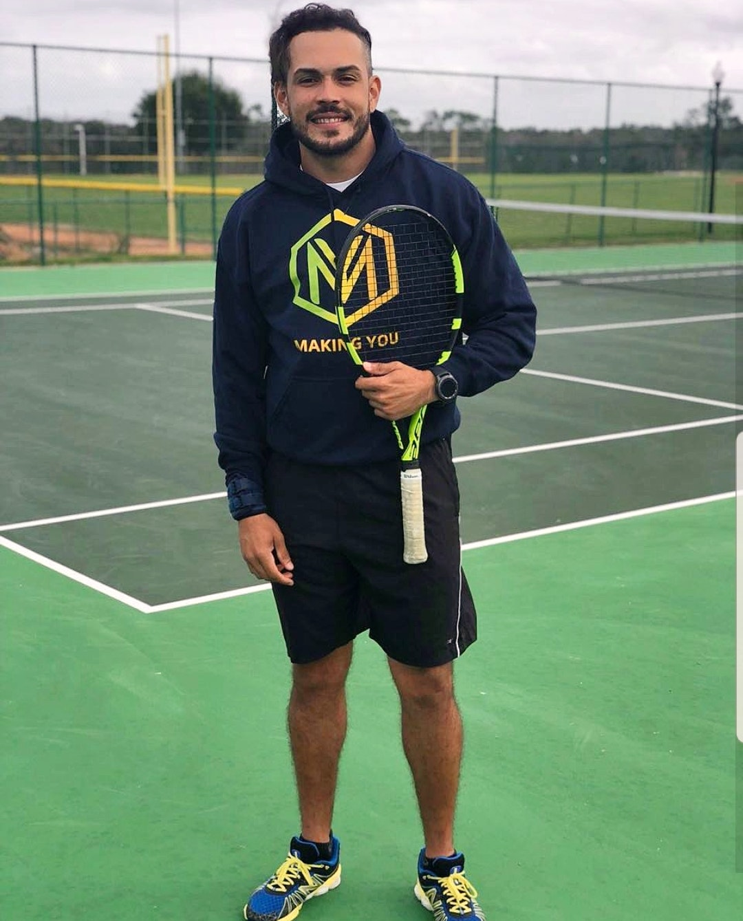 Giancarlo E. teaches tennis lessons in Kissimmee, FL