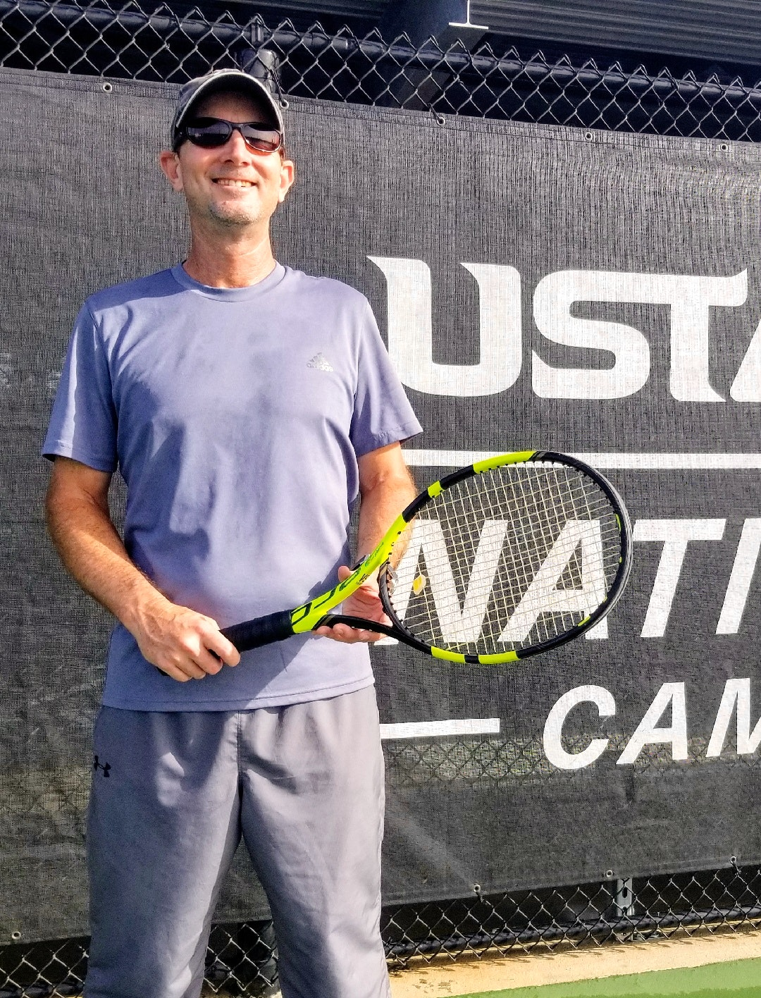 Kevin C. teaches tennis lessons in Casselberry, FL