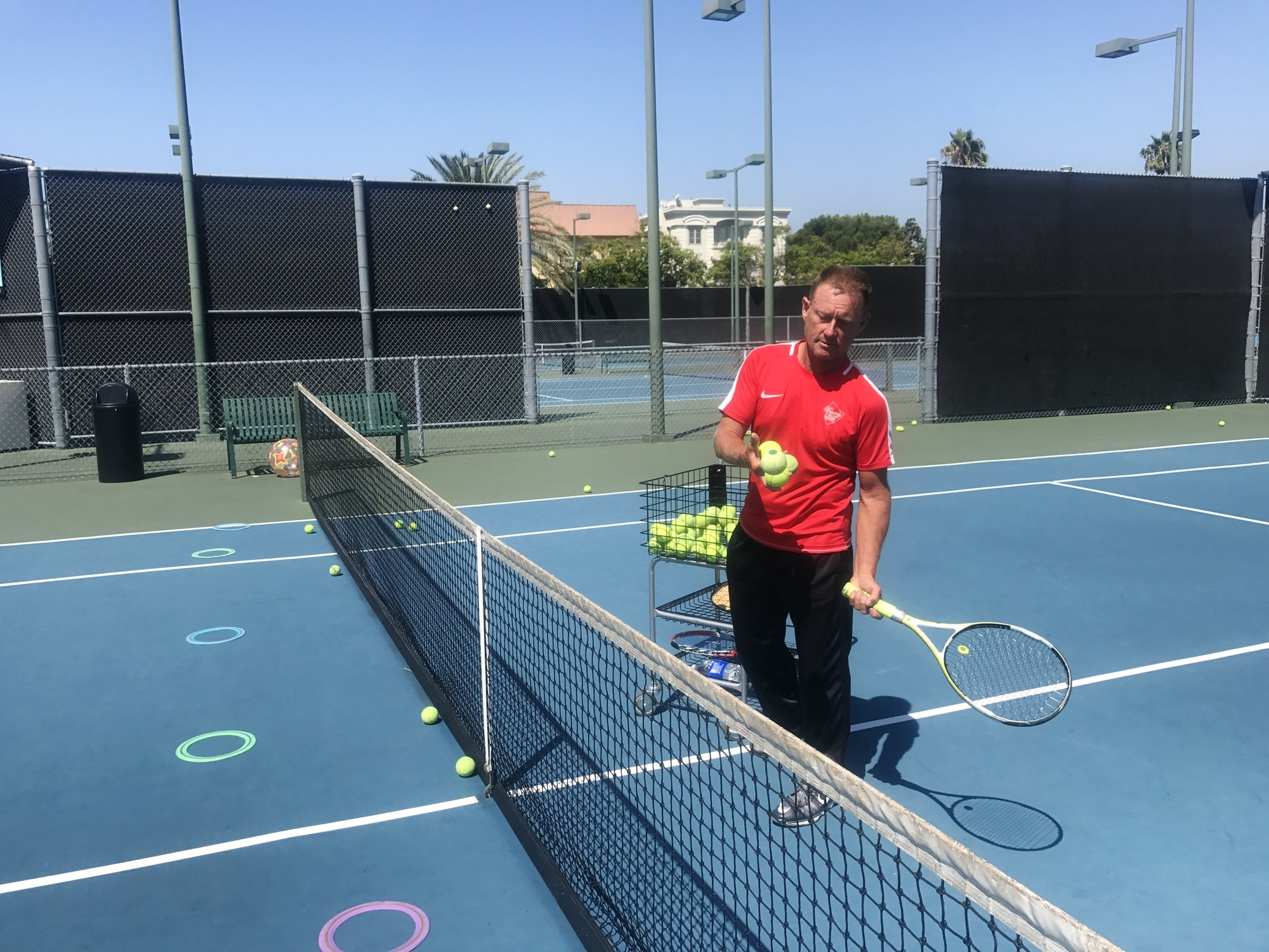 Scott H. teaches tennis lessons in Claremont, CA
