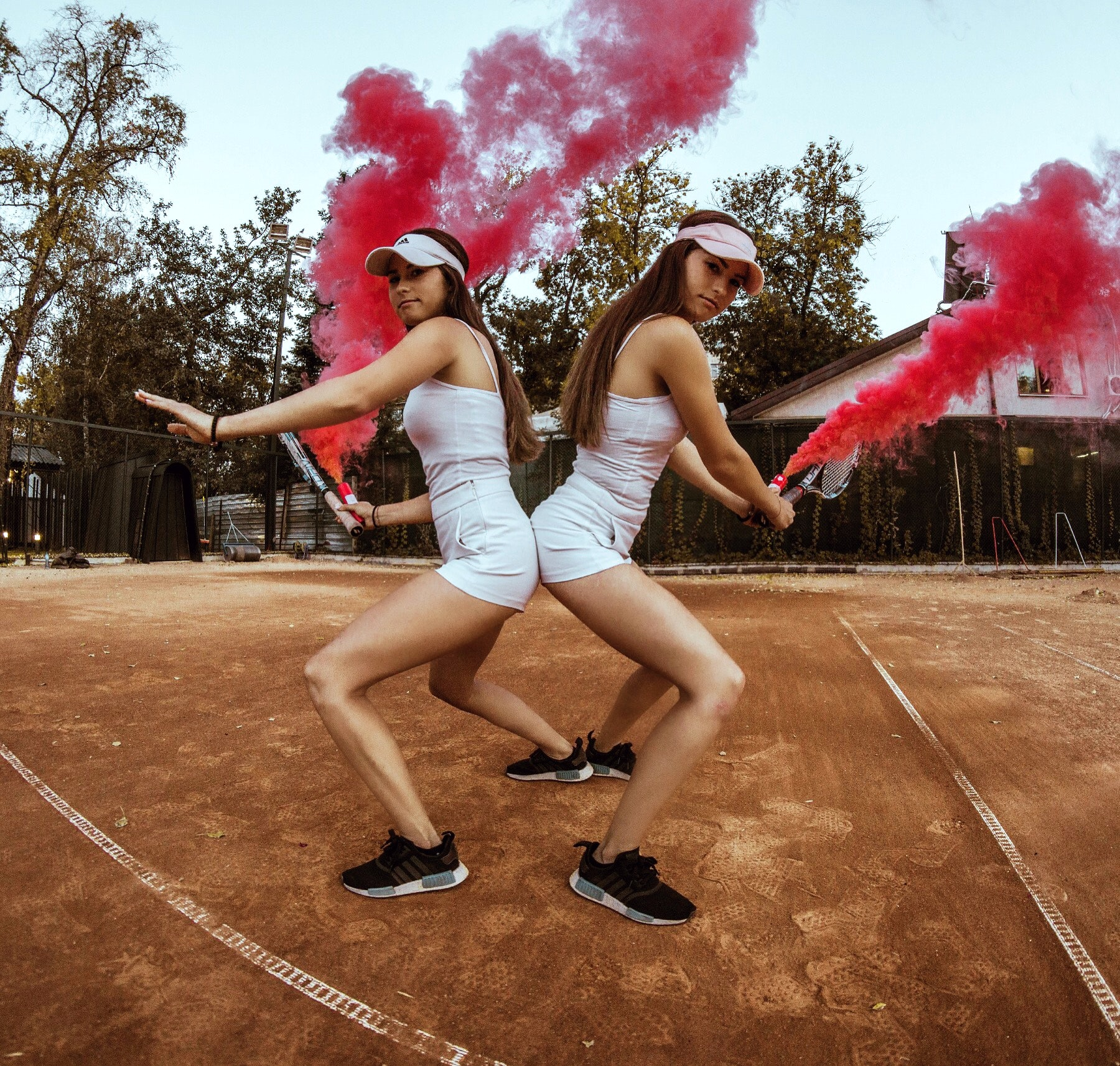 Twins Of Miami teaches tennis lessons in Coral Gables, FL
