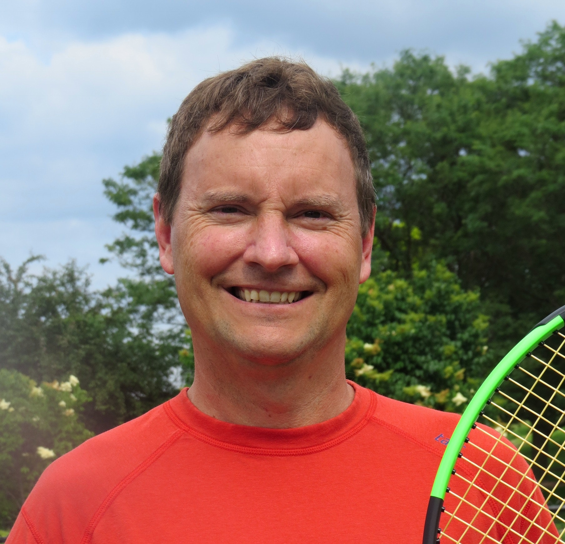 Mark E. teaches tennis lessons in Eagan, MN