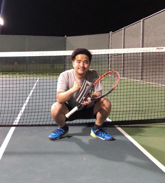 Raphael Y. teaches tennis lessons in Cerritos, CA