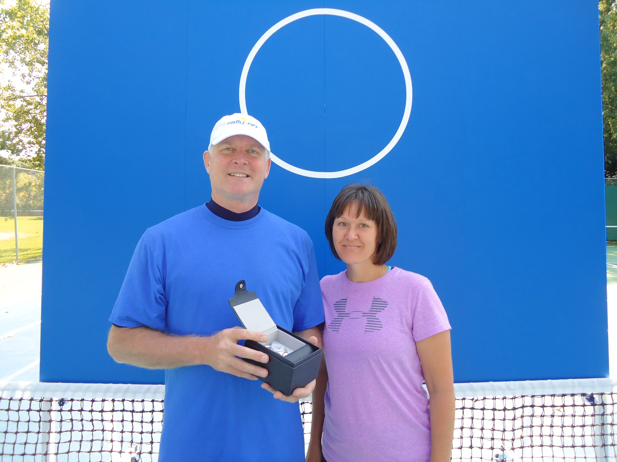 Brian W. teaches tennis lessons in Excelsior, MN