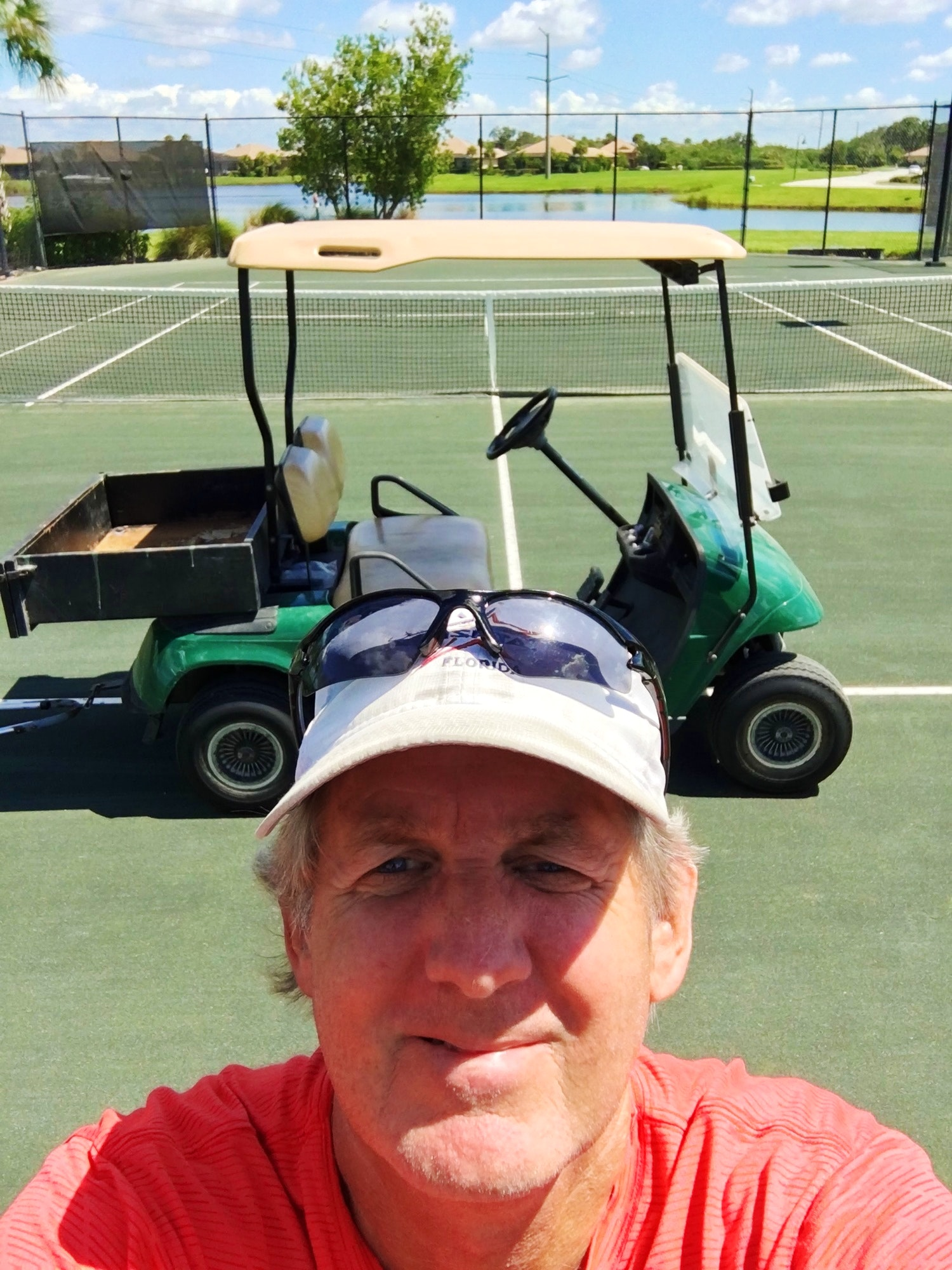 Alan S. teaches tennis lessons in Bradenton, FL