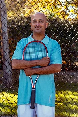 Jeet B. teaches tennis lessons in Ashburn, VA