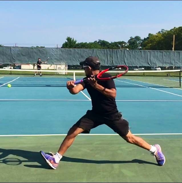 Dheeraj B. teaches tennis lessons in Santa Clara, CA