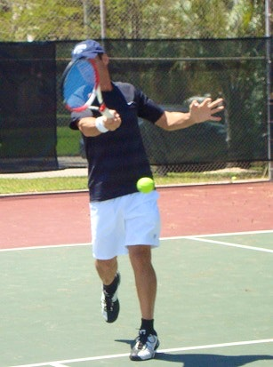 Douglas M. teaches tennis lessons in Miami Beach, FL