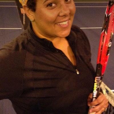 Rachael S. teaches tennis lessons in Lakewood, CA