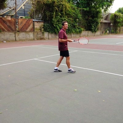 Marc D. teaches tennis lessons in Portland, OR