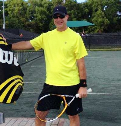 Steve B. teaches tennis lessons in Palm Beach Gardens, FL